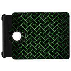 Brick2 Black Marble & Green Brushed Metal Kindle Fire Hd 7