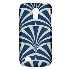 Teal,white,art Deco,pattern Galaxy S4 Mini