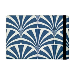 Teal,white,art Deco,pattern Ipad Mini 2 Flip Cases