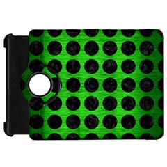 Circles1 Black Marble & Green Brushed Metal (r) Kindle Fire Hd 7