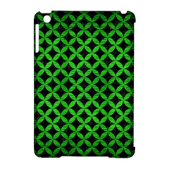 Circles3 Black Marble & Green Brushed Metal Apple Ipad Mini Hardshell Case (compatible With Smart Cover)