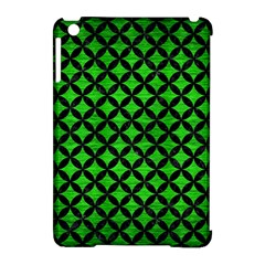 Circles3 Black Marble & Green Brushed Metal (r) Apple Ipad Mini Hardshell Case (compatible With Smart Cover)