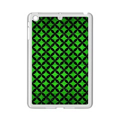 Circles3 Black Marble & Green Brushed Metal (r) Ipad Mini 2 Enamel Coated Cases