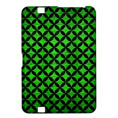 Circles3 Black Marble & Green Brushed Metal (r) Kindle Fire Hd 8 9