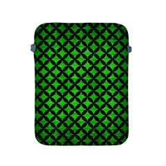 Circles3 Black Marble & Green Brushed Metal (r) Apple Ipad 2/3/4 Protective Soft Cases