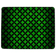 Circles3 Black Marble & Green Brushed Metal (r) Jigsaw Puzzle Photo Stand (rectangular)