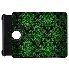 Damask1 Black Marble & Green Brushed Metal Kindle Fire Hd 7