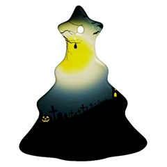 Halloween Landscape Ornament (christmas Tree)