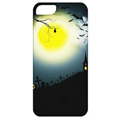 Halloween Landscape Apple Iphone 5 Classic Hardshell Case