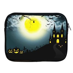 Halloween Landscape Apple Ipad 2/3/4 Zipper Cases