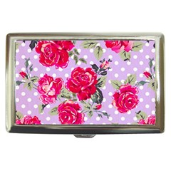 Shabby Chic,pink,roses,polka Dots Cigarette Money Cases