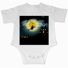 Halloween Landscape Infant Creepers