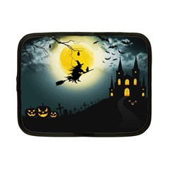 Halloween Landscape Netbook Case (small)