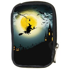 Halloween Landscape Compact Camera Cases
