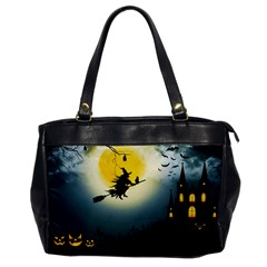 Halloween Landscape Office Handbags