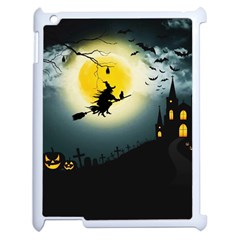 Halloween Landscape Apple Ipad 2 Case (white)
