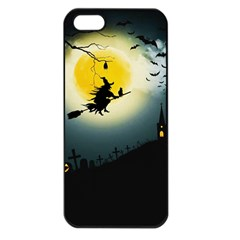 Halloween Landscape Apple Iphone 5 Seamless Case (black)