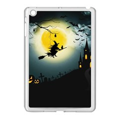 Halloween Landscape Apple Ipad Mini Case (white)