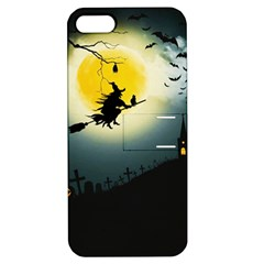 Halloween Landscape Apple Iphone 5 Hardshell Case With Stand