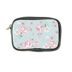 Shabby Chic,pink,roses,polka Dots Coin Purse