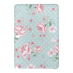 Shabby Chic,pink,roses,polka Dots Samsung Galaxy Tab Pro 12 2 Hardshell Case