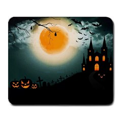 Halloween Landscape Large Mousepads