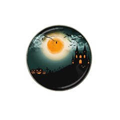 Halloween Landscape Hat Clip Ball Marker (10 Pack)