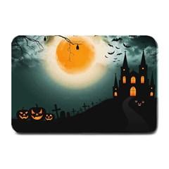Halloween Landscape Plate Mats