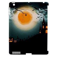 Halloween Landscape Apple Ipad 3/4 Hardshell Case (compatible With Smart Cover)