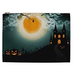 Halloween landscape Cosmetic Bag (XXL)  Front
