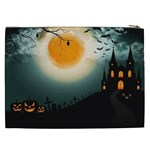 Halloween landscape Cosmetic Bag (XXL)  Back