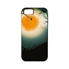 Halloween Landscape Apple Iphone 5 Classic Hardshell Case (pc+silicone)