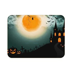 Halloween Landscape Double Sided Flano Blanket (mini)