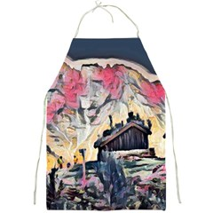 Modern Abstract Painting Full Print Aprons