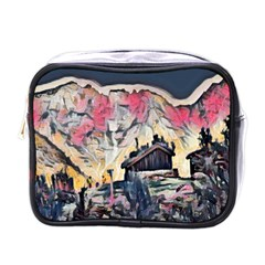 Modern Abstract Painting Mini Toiletries Bags