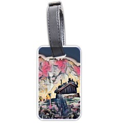 Modern Abstract Painting Luggage Tags (one Side)
