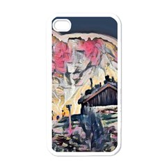 Modern Abstract Painting Apple Iphone 4 Case (white)