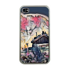 Modern Abstract Painting Apple Iphone 4 Case (clear)