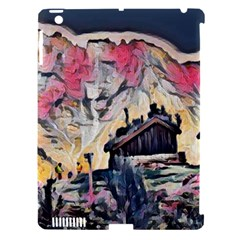 Modern Abstract Painting Apple Ipad 3/4 Hardshell Case (compatible With Smart Cover)