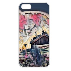 Modern Abstract Painting Apple Iphone 5 Seamless Case (white)