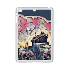 Modern Abstract Painting Ipad Mini 2 Enamel Coated Cases