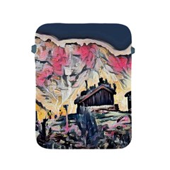 Modern Abstract Painting Apple Ipad 2/3/4 Protective Soft Cases