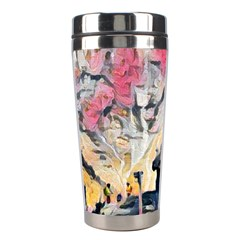Modern Abstract Painting Stainless Steel Travel Tumblers