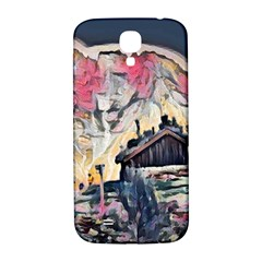 Modern Abstract Painting Samsung Galaxy S4 I9500/i9505  Hardshell Back Case