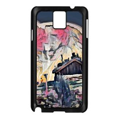 Modern Abstract Painting Samsung Galaxy Note 3 N9005 Case (black)