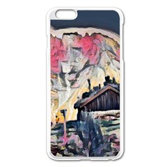 Modern Abstract Painting Apple Iphone 6 Plus/6s Plus Enamel White Case