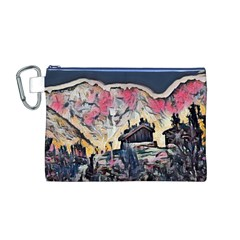 Modern Abstract Painting Canvas Cosmetic Bag (m)