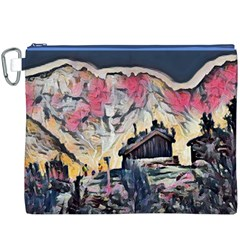 Modern Abstract Painting Canvas Cosmetic Bag (xxxl)