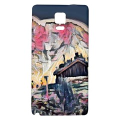 Modern Abstract Painting Galaxy Note 4 Back Case