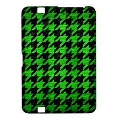 Houndstooth1 Black Marble & Green Brushed Metal Kindle Fire Hd 8 9